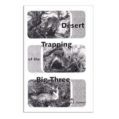 Desert Trapping of the Big Three - JC Conner - Book