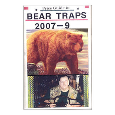 Price Guide to North American Collector Bear Traps - Robert Vance - Book