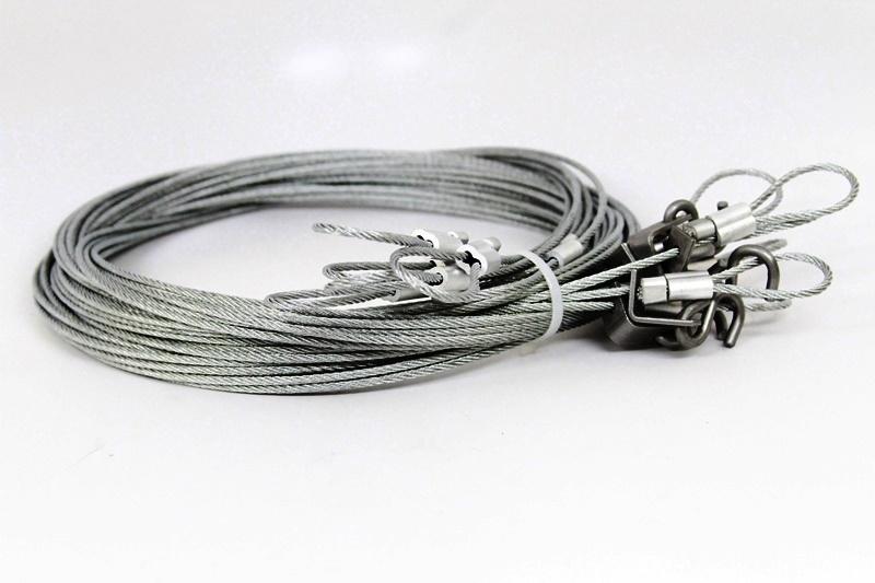 MB-15 Foot Slide Wires Drowner Cables-Minnesota Trapline