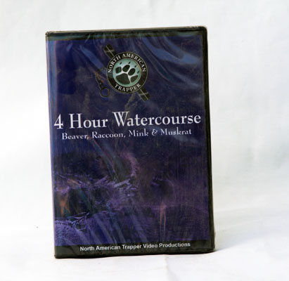 4 Hour Watercourse - Alan Probst - DVD