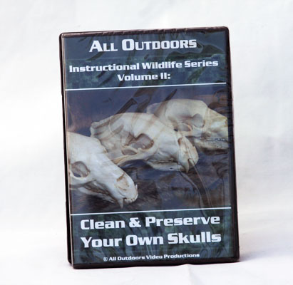 Clean and Preserve Your Own Skulls -  Alan Probst - DVD