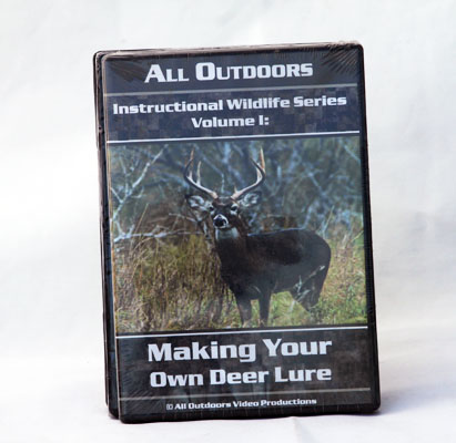 Making Your Own Deer Lure - Alan Probst - DVD