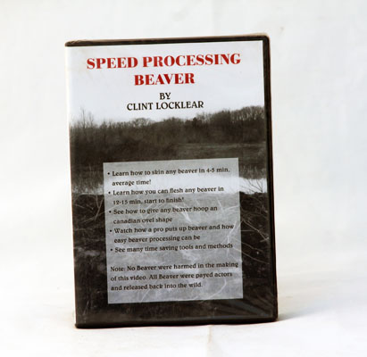Speed Processing Beaver - Clint Locklear - DVD