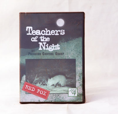 Teachers of the Night - Red Fox  - Clint Locklear - DVD