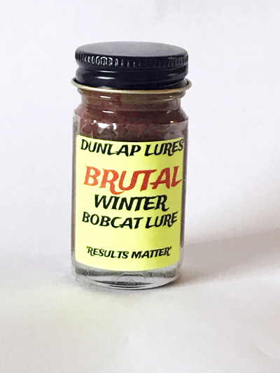 Brutal - Winter Bobcat Lure - Dunlap Lures