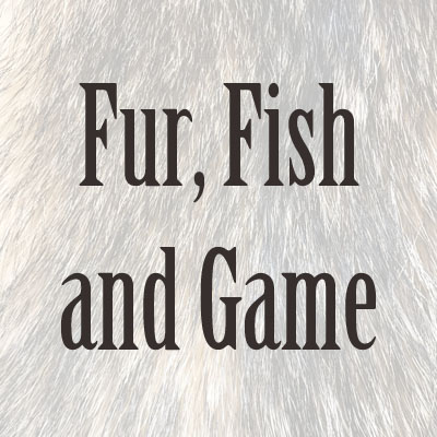 Dvd by person for Fur fish and game