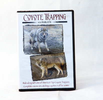 Coyote Trapping with Mark June - DVD