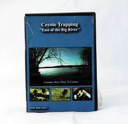 Coyote Trapping East of the Big River - Matt Jones - DVD