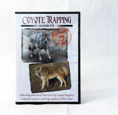 Coyote Trapping with Mark June Volume 2 - DVD