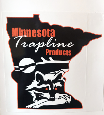 Minnesota Trapline Window Decal