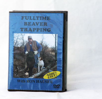 Fulltime Beaver Trapping - Ron Hauser - DVD
