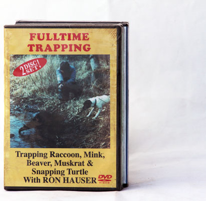 Fulltime Trapping - Ron Hauser - DVD
