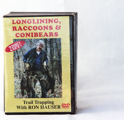 Longlining, Raccoons & Conibears - Ron Hauser - DVD