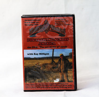 Fox Trapping Across America -  Ray Milligan - DVD