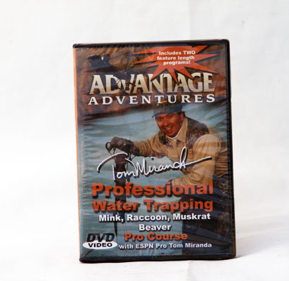 Professional Water Trapping - Vol 2 Tom Miranda - DVD