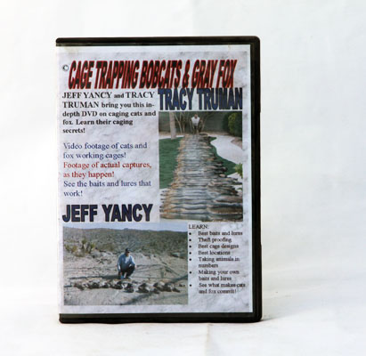 Cage Trapping Bobcats and Grey Fox - Tracy Truman - DVD