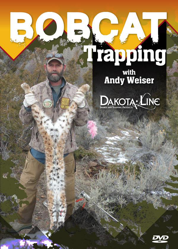 Bobcat Trapping with Andy Weiser DVD