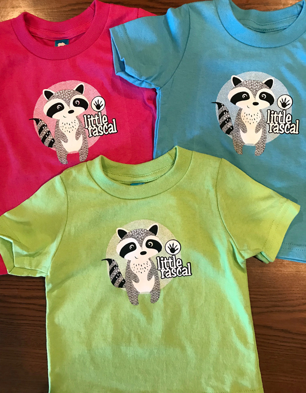 T-Shirt Infant Raccoon Shirt